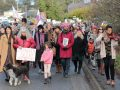 Salt Spring's Women's March in Support of the Women's March on Washington.