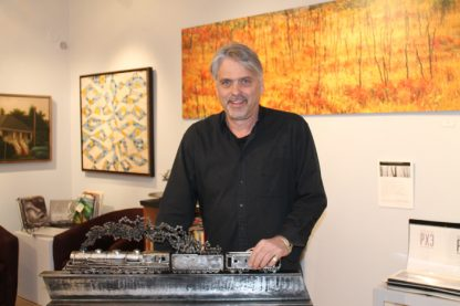 Matt Steffich of Steffich Fine Art is set to celebrate 25 years in business beginning with an April 1 open house event at the gallery.