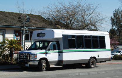 Salt Spring Transit bus in Ganges.