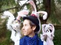 Jesse Thom and some bunnies from the Some Bunny Loves You puppet show set to run at SS Wellness Centre on Friday, April 14 at 2 p.m.