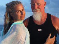 Katya Mycyk and her husband Steve Forbes.
