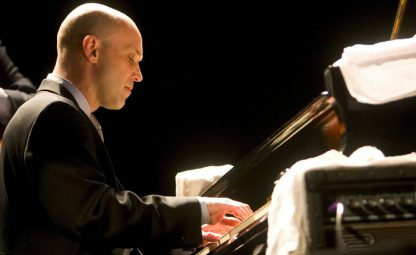 New York jazz pianist Larry Fuller. He will perform on Salt Spring Island at the United church on Saturday, May 20 with drummer Kelby MacNary and bassist John Lee.