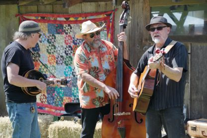 Barley Bros. play by one of the barns at the 2015 Ruckle Heritage Farm Day. This year's version is on Sunday, May 7.